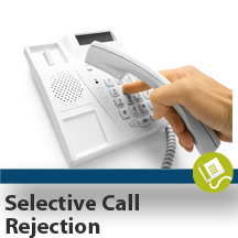 Selective Call Rejection